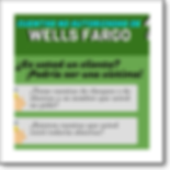Thumbnail graphic about Wells Fargo's unauthorized accounts, in Spanish