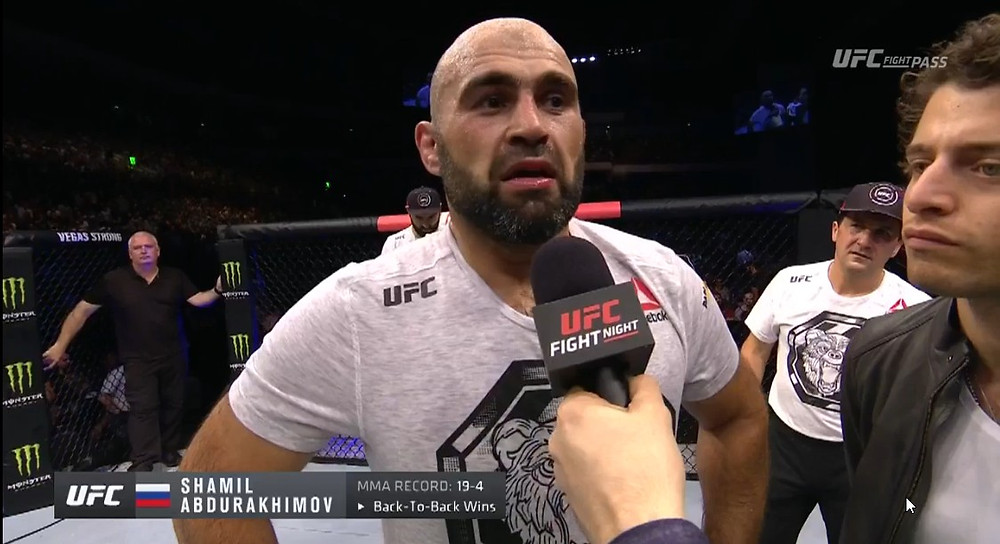 Shamil Abdurakhimov vence por decisão unânime Andrei Arlovski