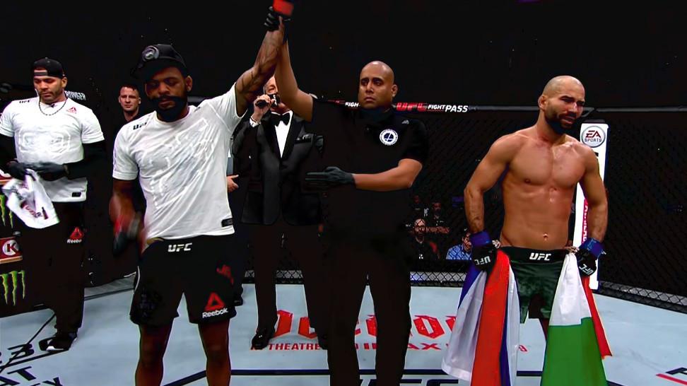 Michael Johnson (vencedor; decisão unânime) vs. Artem Lobov