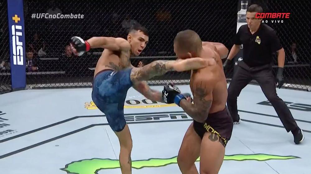 Andre Fili vence Sheymon Moraes por nocaute no 1R