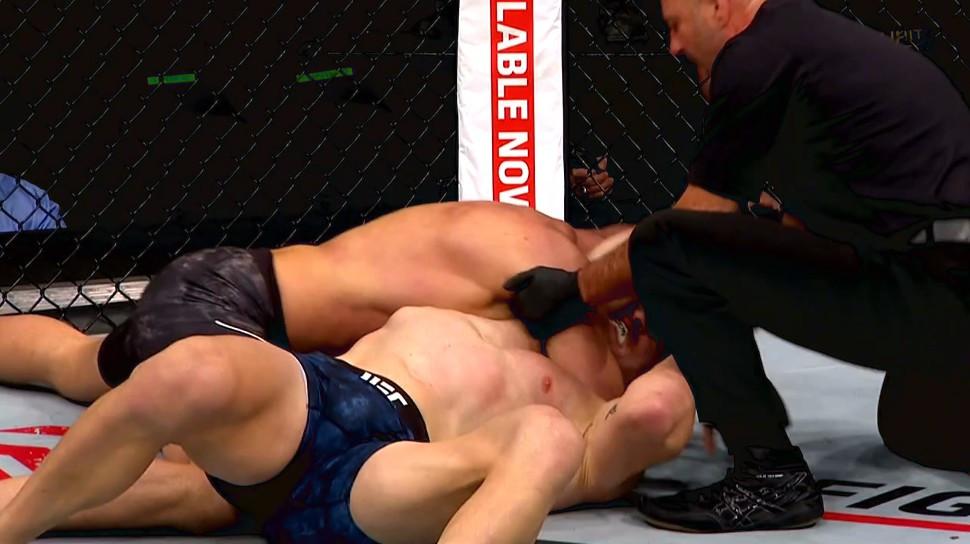 Misha Cirkunov (vencedor; finalização; 1R) vs. Patrick Cummins