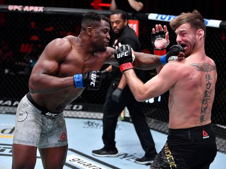 UFC: …and New! Ngannou é o novo detentor do cinturão dos pesados