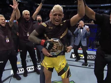 UFC 262: Charles vence e trás o Cinturão dos leves para o Brasil!
