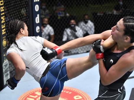 UFC Vegas 26: Marina supera mais um desafio no UFC