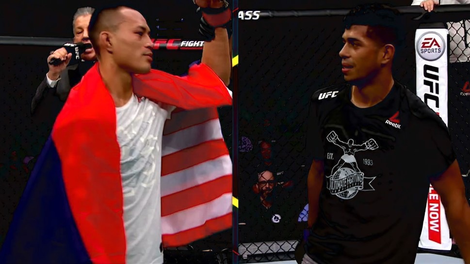 Andre Soukhamthath (vencedor; decisão unânime) vs. Jonathan Martinez