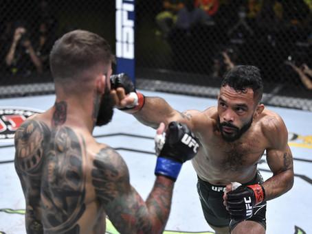 UFC Vegas 27: Font supera Garbrandt em atuação brilhante