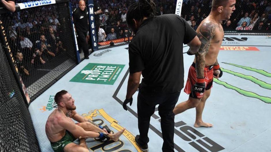 UFC 264: McGregor quebra o tornozelo e perde disputa de cinturão