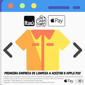 Aceita Apple Pay Faxina