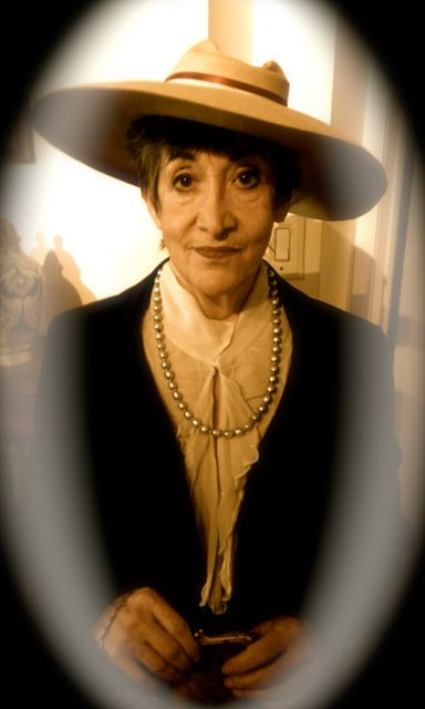 Judy Rosenblatt as Bertha Kalich
