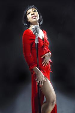 Sandhi Santini as Eartha Kitt