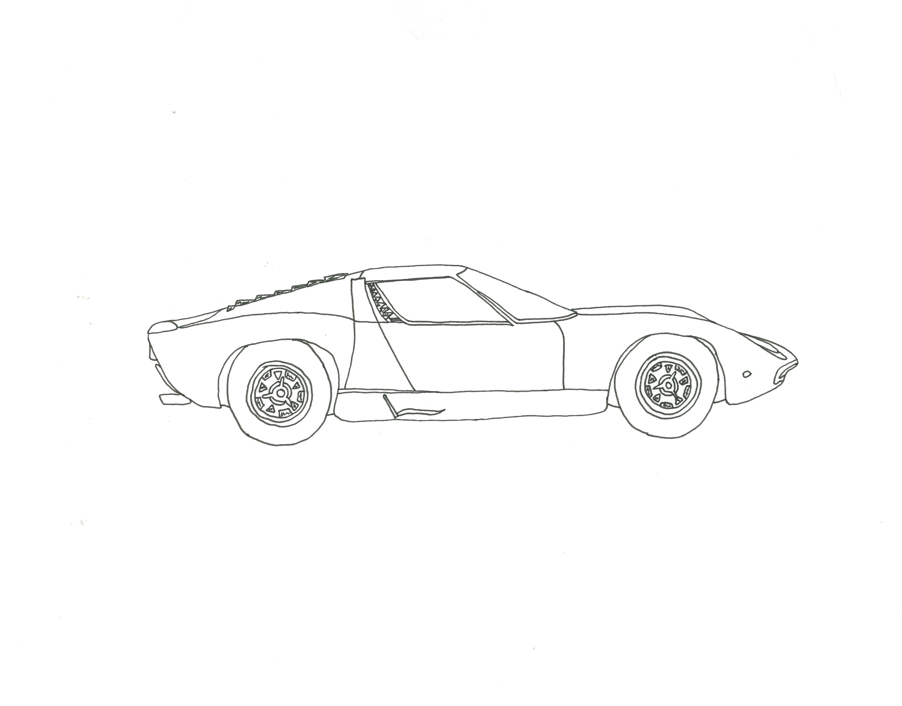 Miura SV Lamborghini '70