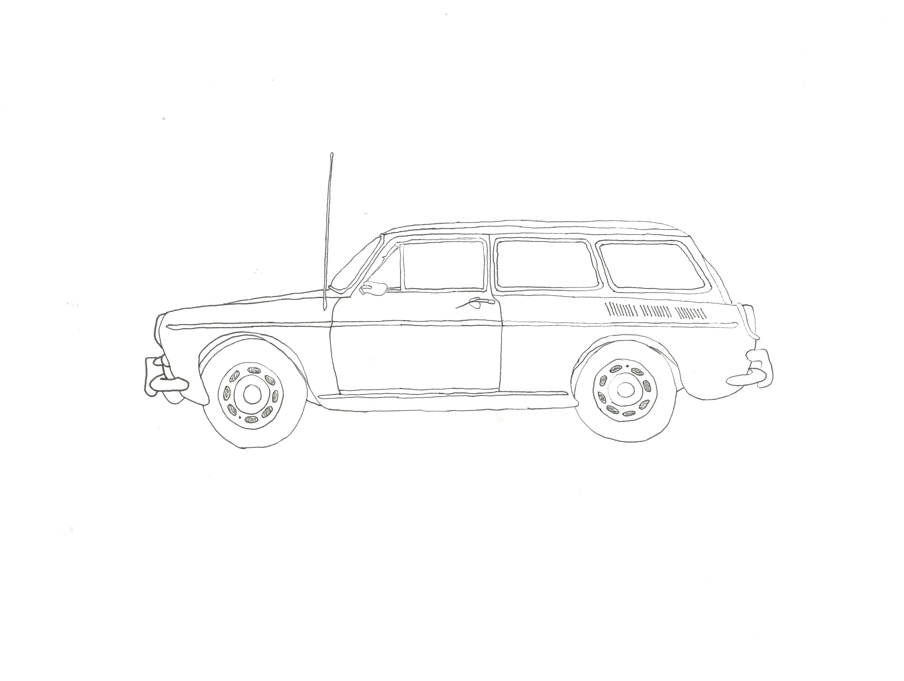 Squareback Wagon, Volkswagon '69