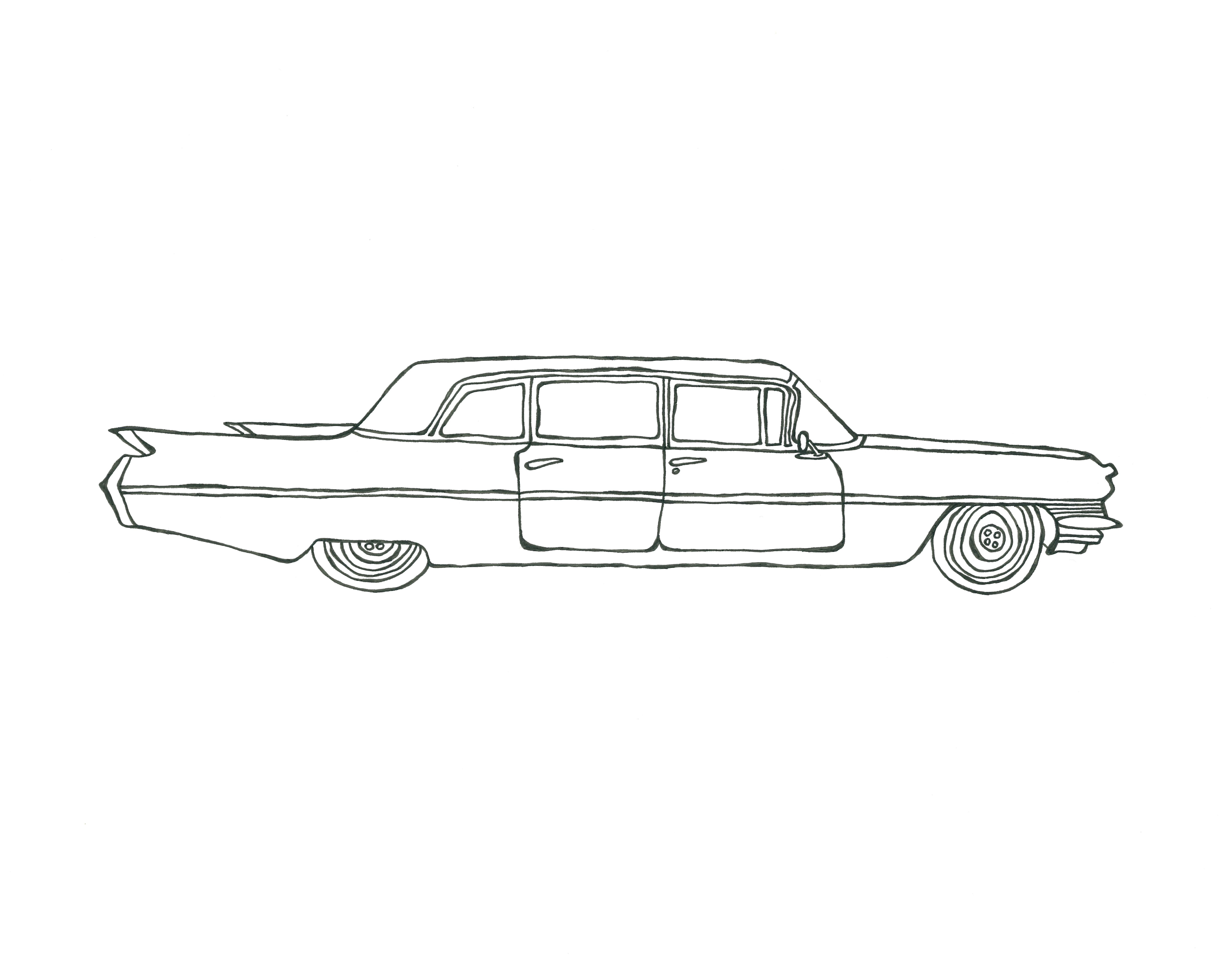 Fleetwood Limosine, Cadillac '60