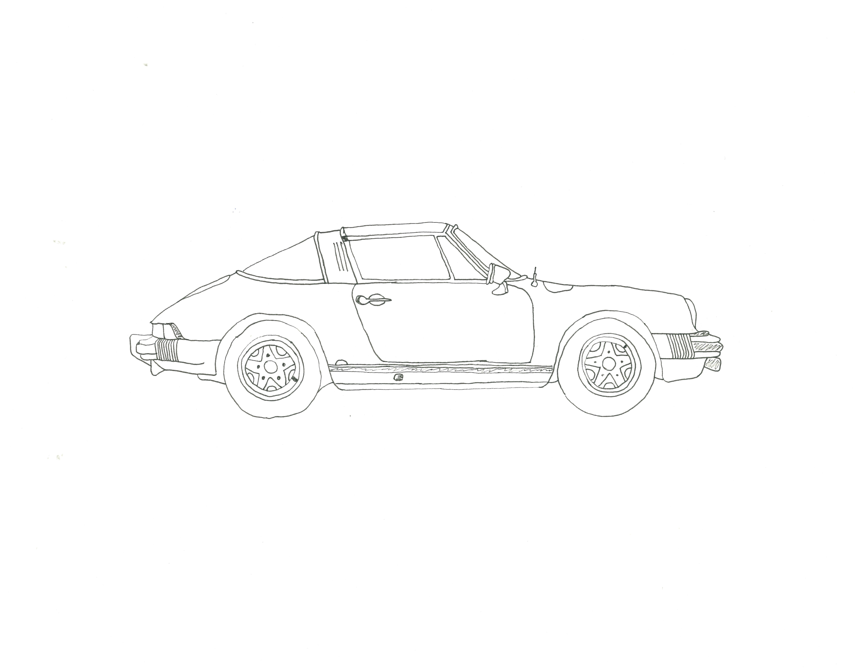 911 Targa, Porsche '77