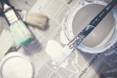 פחית צבע 18 ליטר לבן