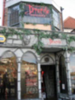 The Dracula Experience, a short walk from our Whitby holiday home