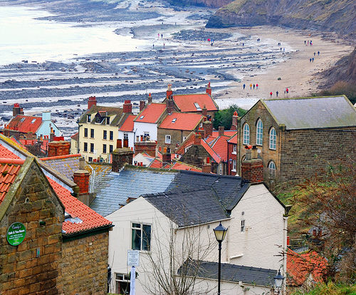Robin Hoods Bay, a short drive from our Whitby holiday home