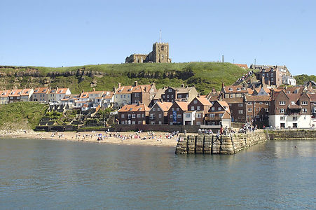 visit Whitby Harbour a short walk from Whitby apartment