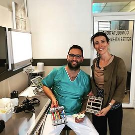 Collaboration Dr. Samama et Deppeler pour créer le Kit Sinus Lift