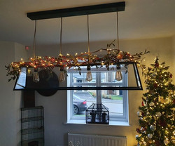 Another set of lights are up to finish o