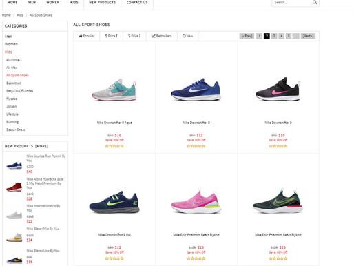 Promocja na buty nike
