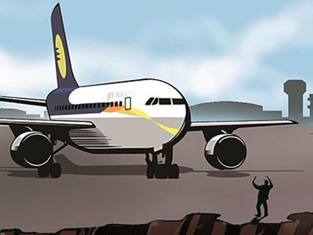 The Yellow and Blue Phoenix - Jet Airways!