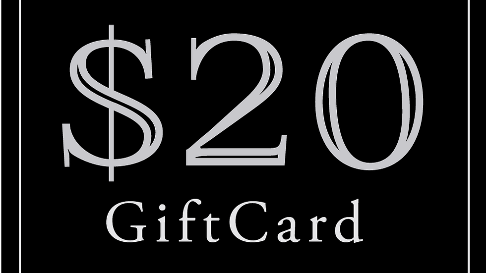 $20 Gift Card (Read Description)