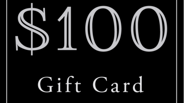 $100 Gift Card (Read Description)