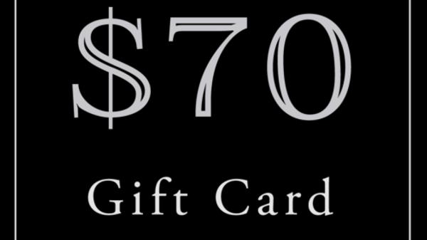 $70 Gift Card (Read Description)