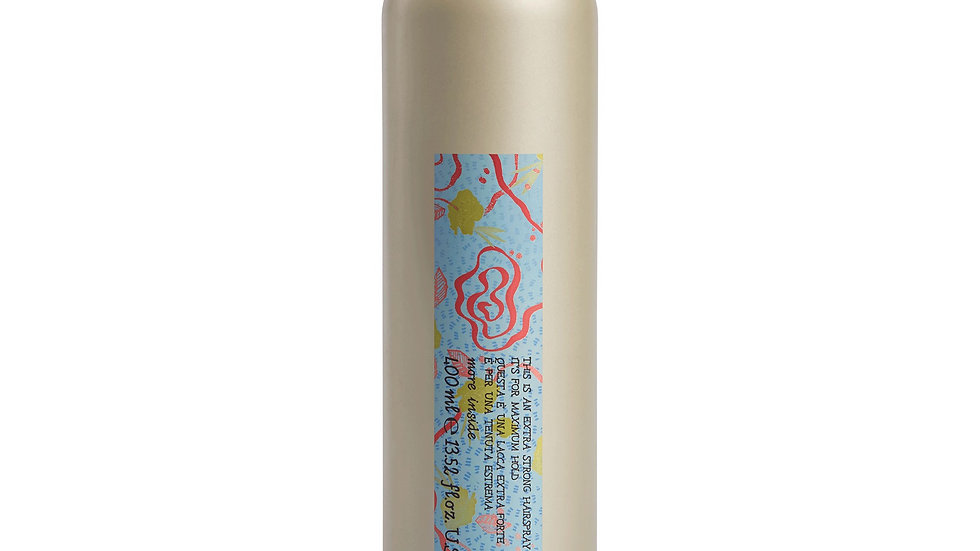 This is a Extra Strong Hairspray