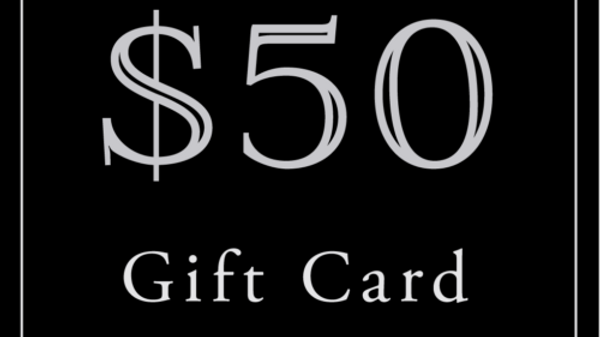 $50 Gift Card (Read Description)