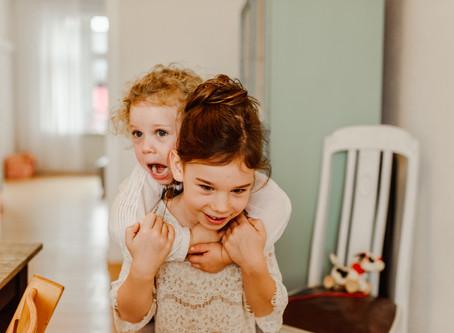 Familienshooting zu Hause