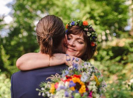 Brautpaarshooting in der Auermühle