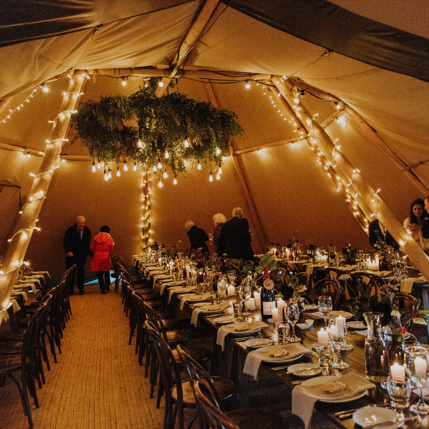 Gather and Gold Tipi
