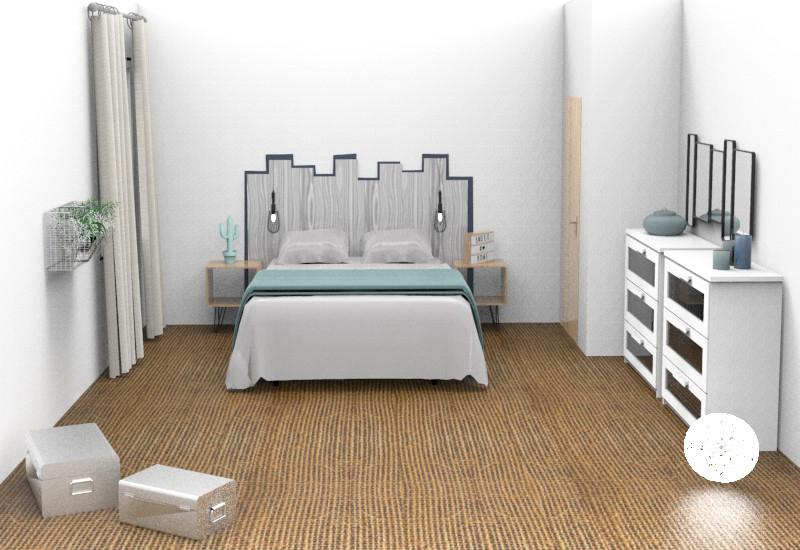 design   Chambre de 13m2