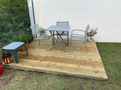 After Photo Of Decking Refurbishment