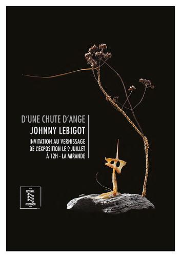 L'archange Saint-Michel pour Une chute d'anges - Festival d'Avignon 2016
