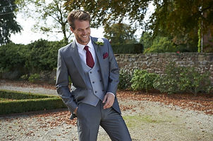 Lightweight silver grey mohair lounge suit