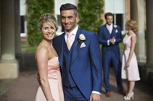 Royal blue  tailcoat