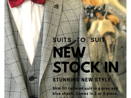 New suit added to our hire collection