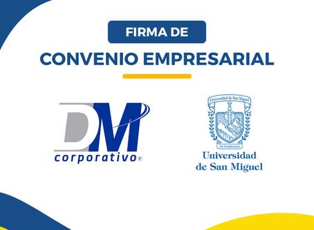 USM FIRMA CONVENIO CON DM TECNOLOGÍAS
