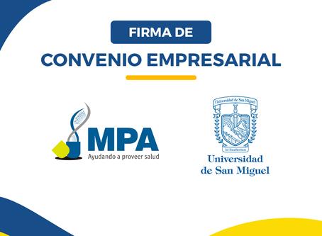 USM FIRMA CONVENIO CON MEDIGROUP DEL PACÍFICO
