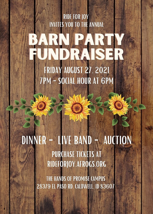 Barn Party Fundraiser August 27.PNG