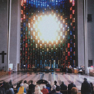 L'uomo at Coventry Cathedral as part of Coventry pride 2019