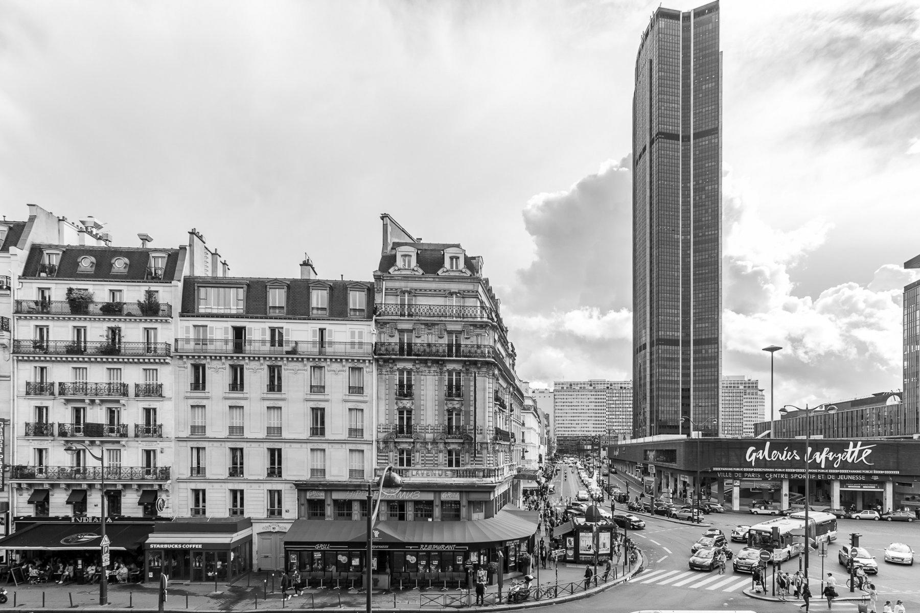 Montparnasse n&b