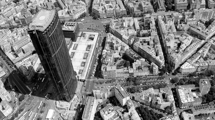 Maine-Montparnasse block in Paris