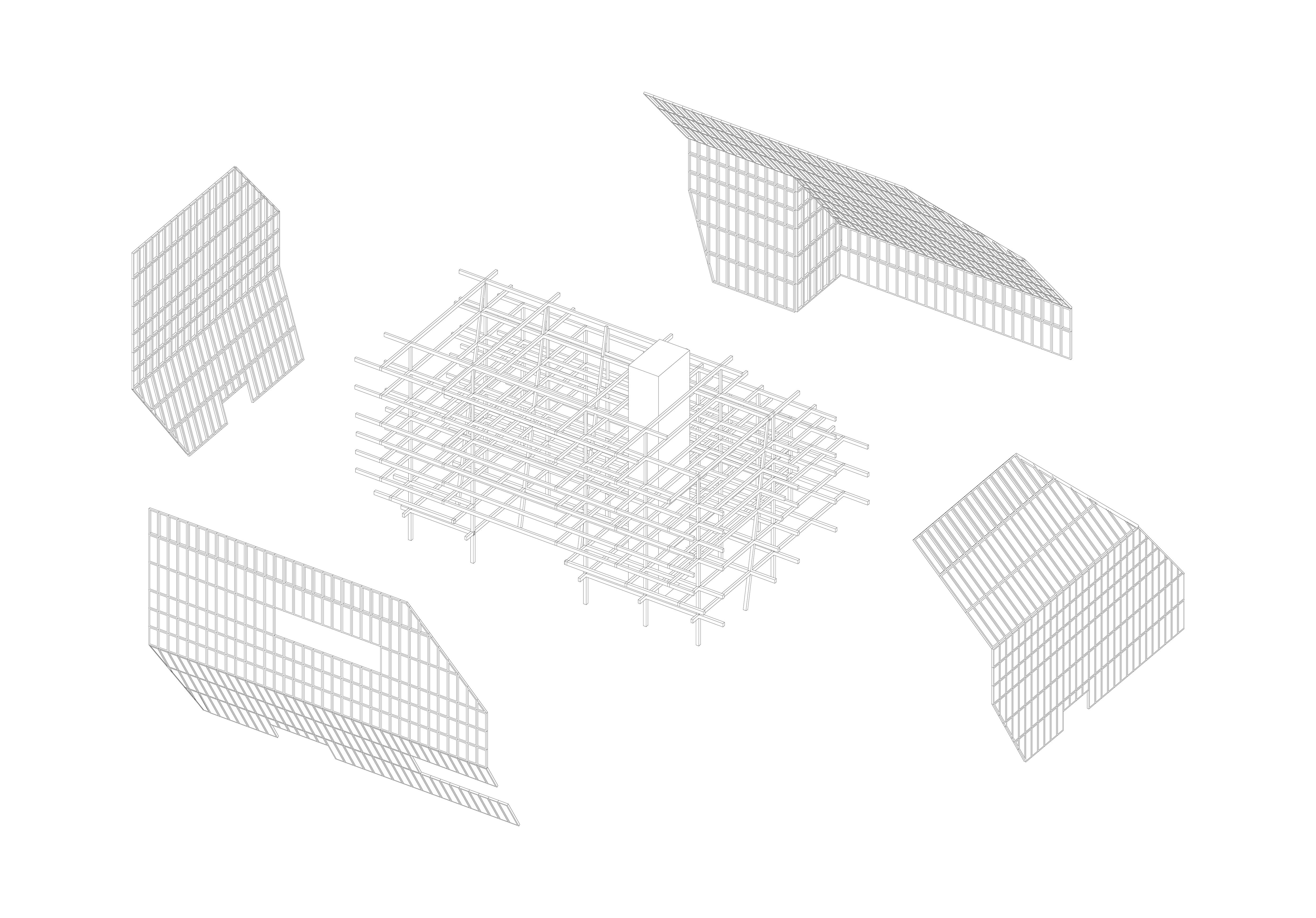 Axono structure