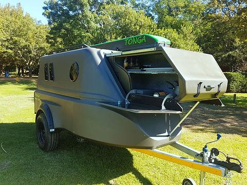 Tonga Camper trailer camping outdoor camping 4x4 offroad camping glamping affordable caravan