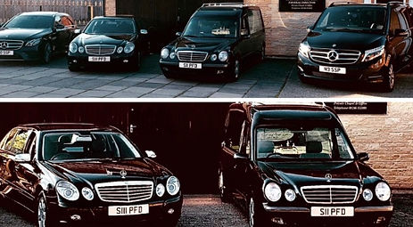 Mercedes Hearse, Mercedes Limousine