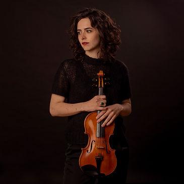 Marina Arrufat, violinista de Bambú ensemble nacida en Castellón